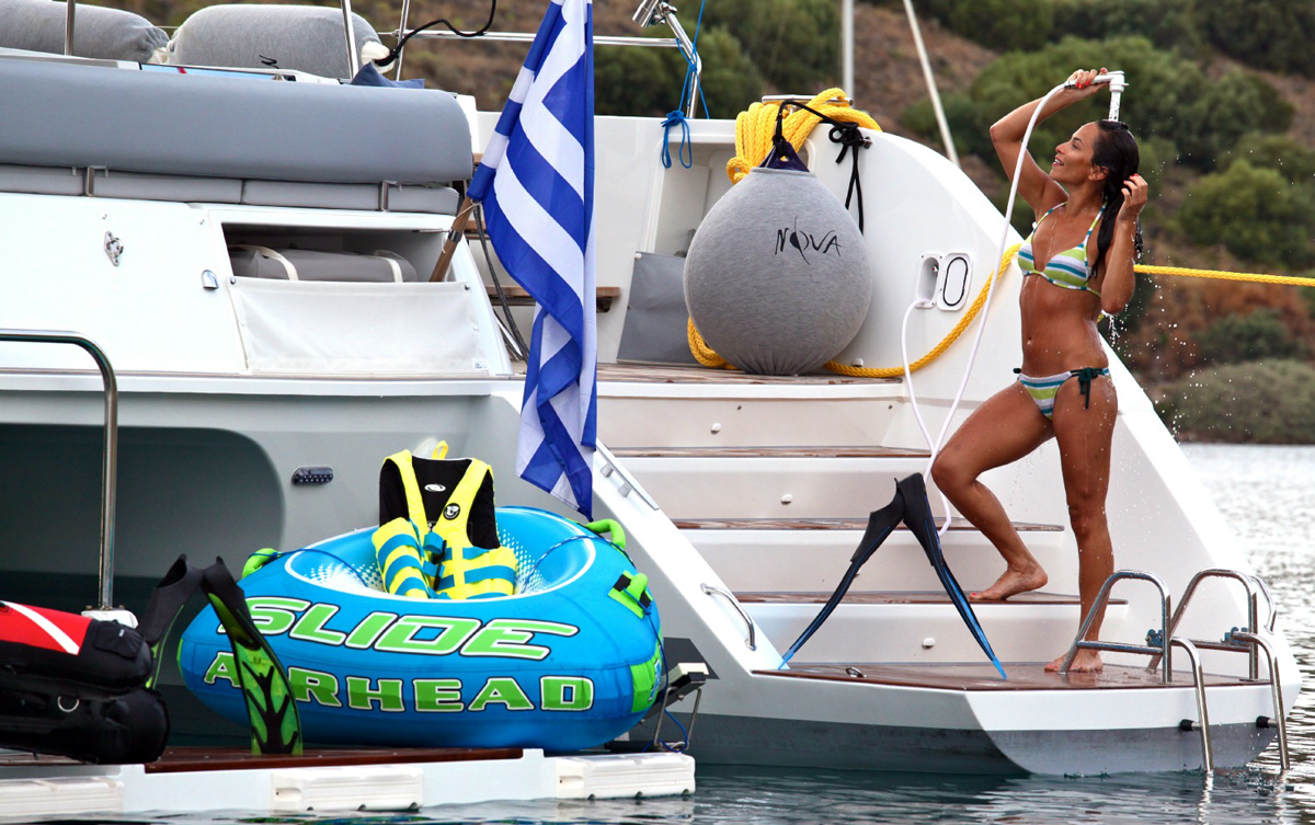 Acqua dolce in barca una comodit impagabile for Doccetta barca