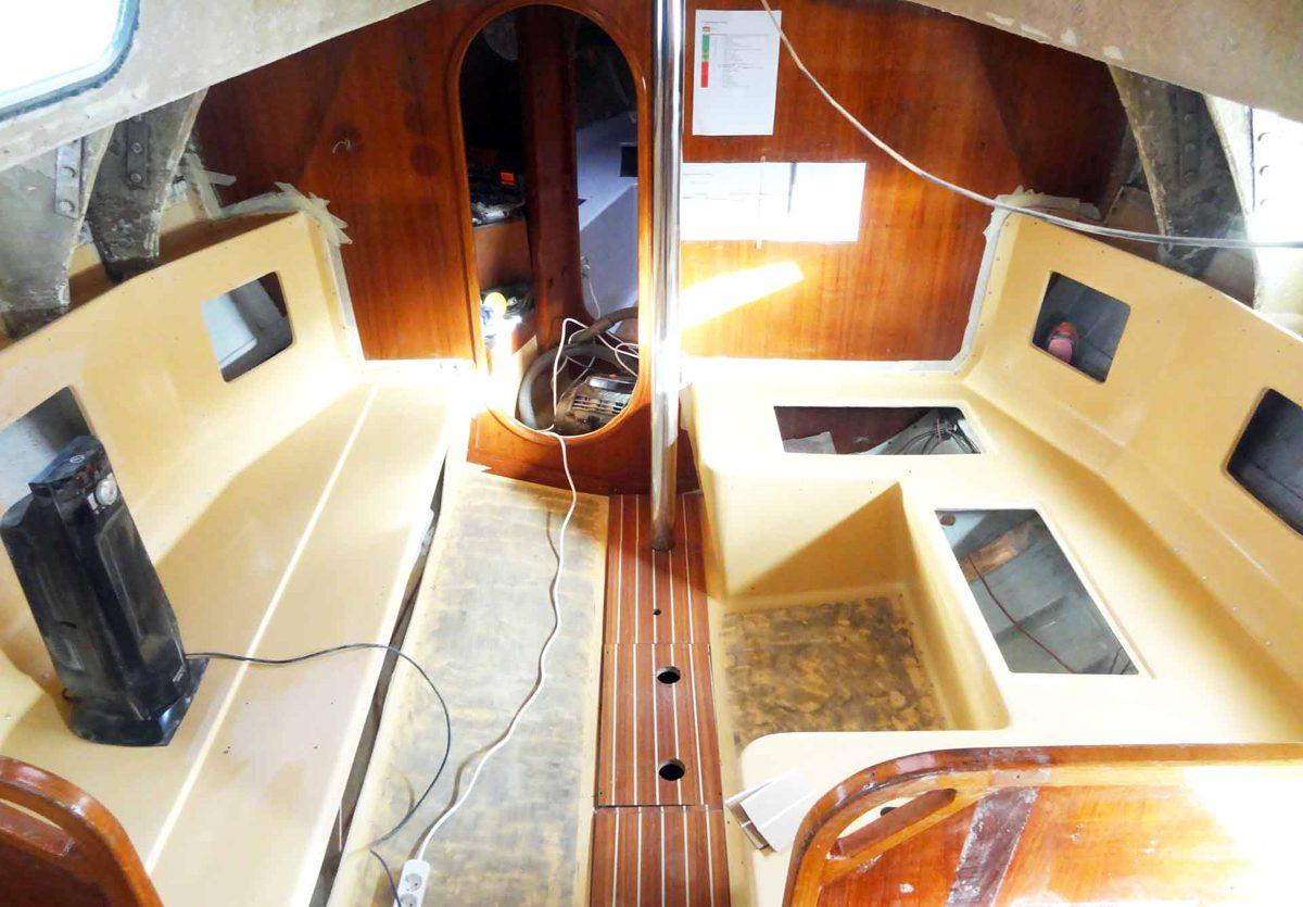 Come Sistemare Una Porta In Legno restaurare una vecchia barca, il giusto approccio