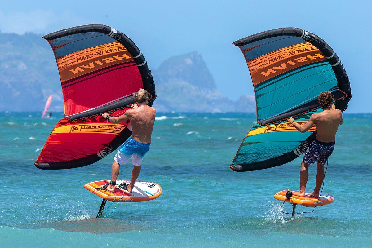 Largo In Acqua Arriva Il Wing Surfing Magellanostore Blog